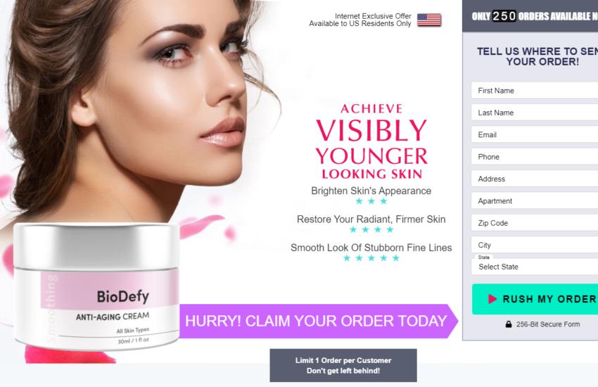 BioDefy Anti-Aging Cream® Guide: {UPDATE 2021} Its Scam or Legit?
