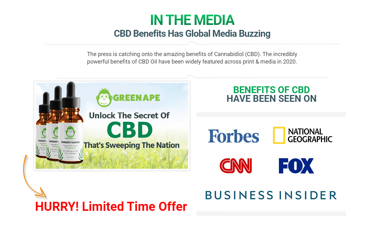 Green Ape CBD Oil - With CBD Becoming One of the Most Popular Natural Health Items