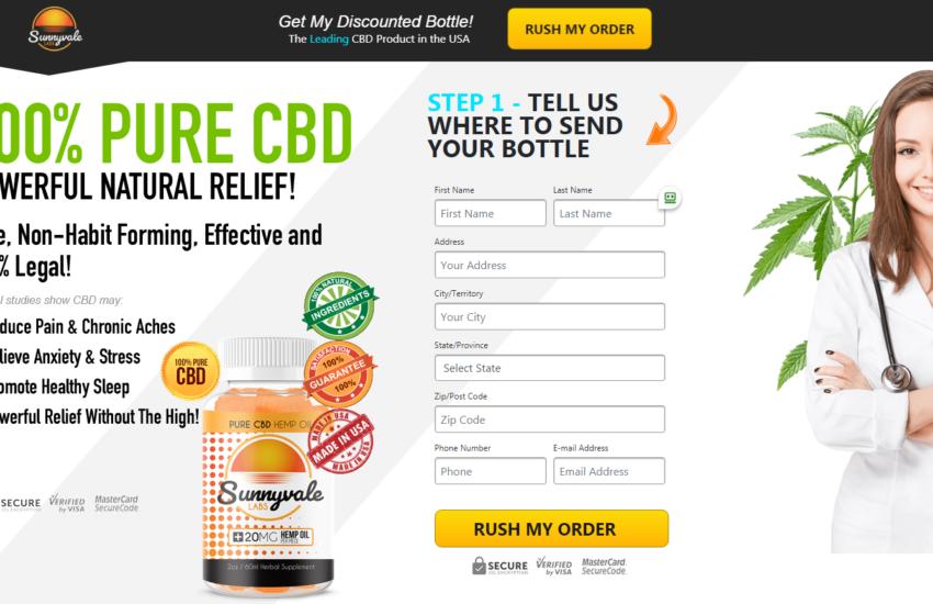 Sunnyvale Labs CBD Gummies *100% Legit Pain Relief Gummies* Price?