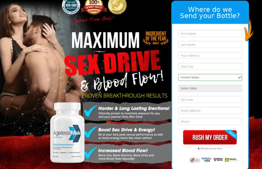 AgeLessMale® [AgeLessMale Male Enhancement] Price, Scam, Reviews?