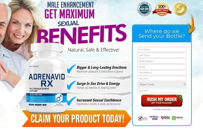 Adrenavid Rx® [Modify 2021] Experience Vitality & Peak Performance
