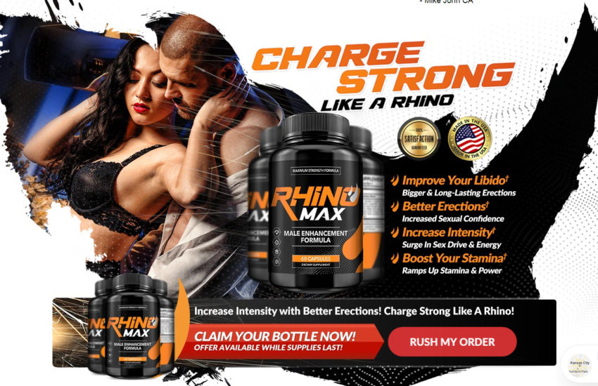 Rhino Max Male Enhancement Pills® [Upgrade 2021] Its Really Works?