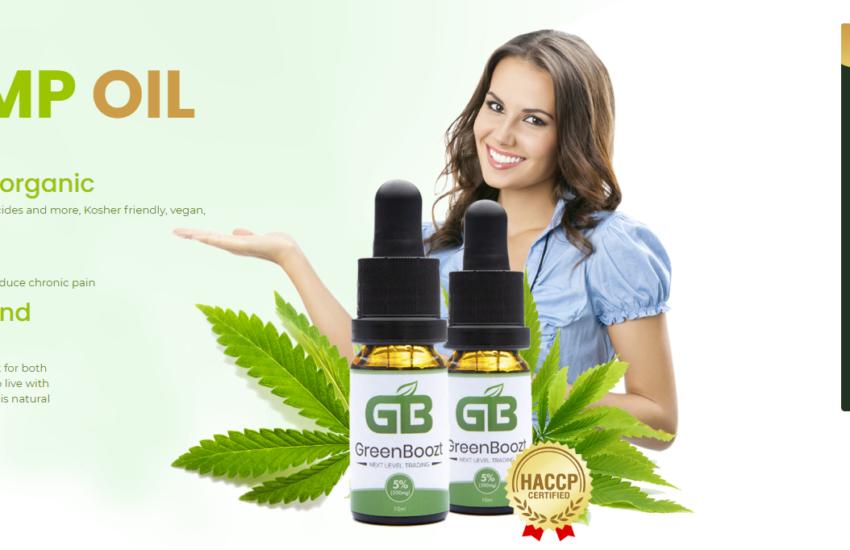 Greenboozt CBD Oil Reviews® [100% Legit Formula] Its Really Works?