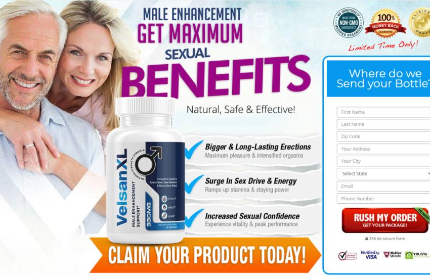 Velsan XL *100% Legit Male Enhancement Pills* Benefits & Reviews?