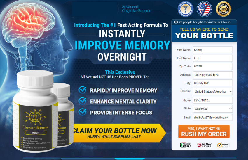Elevate Neuro Mind (UPDATE 2021) Results, Scam, Where to Buy?