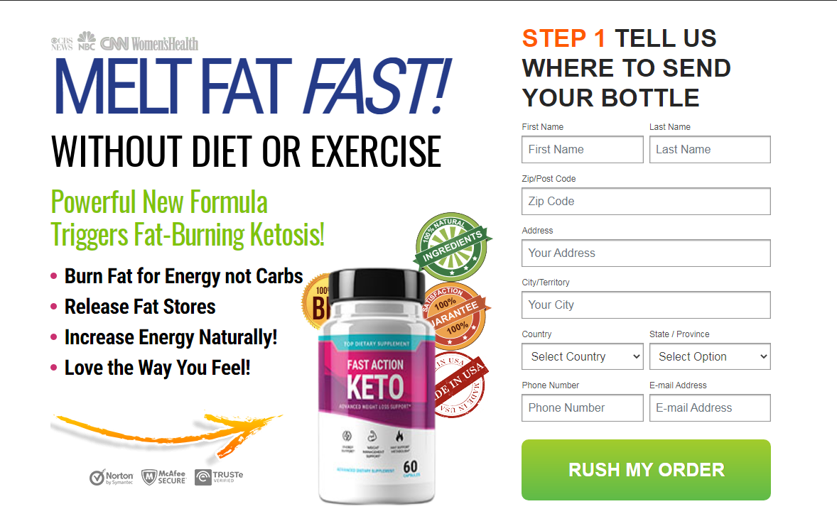 Fast Action Keto - Shark Tank (UPDATE 2021) Does Its Really Works?