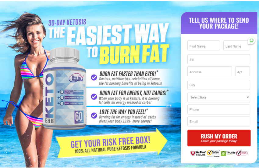 UslimX Keto BHB - Benefits, Side Effects, Ingredients, Scam, Reviews?
