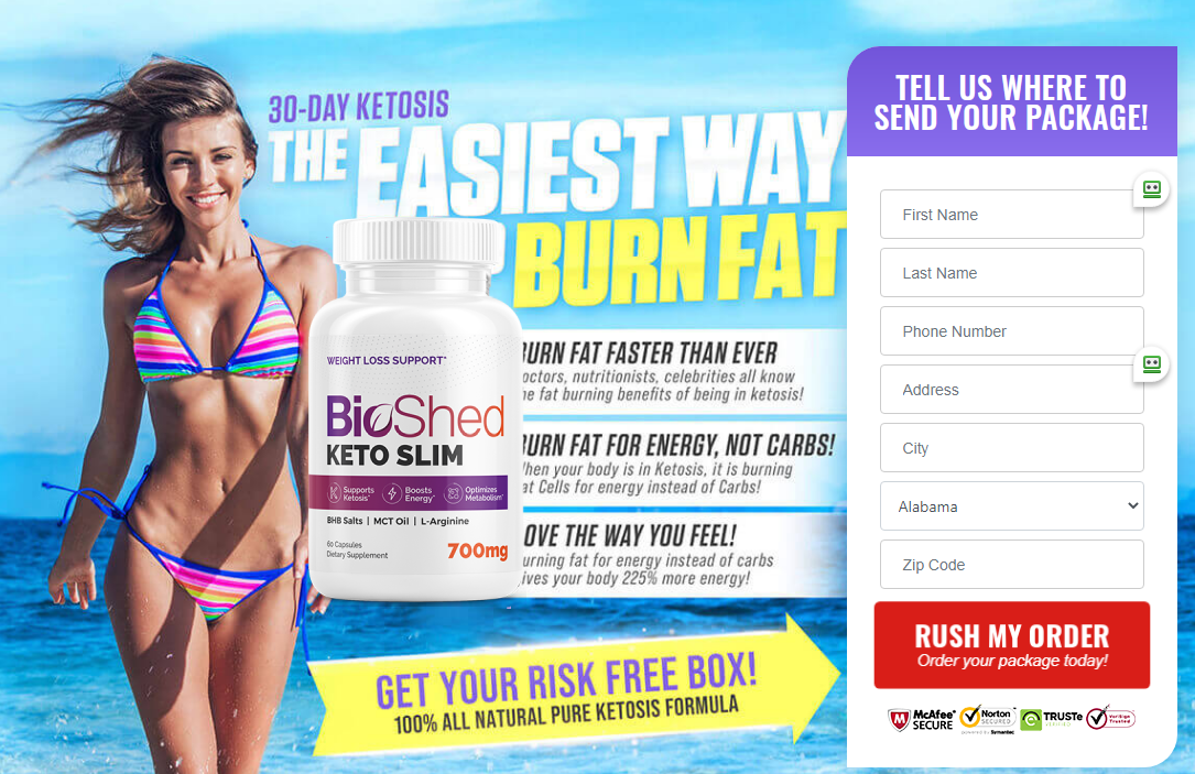 Bio Shed Keto Slim | Shark Tank (UPDATE 2021) Does Its Really Works?