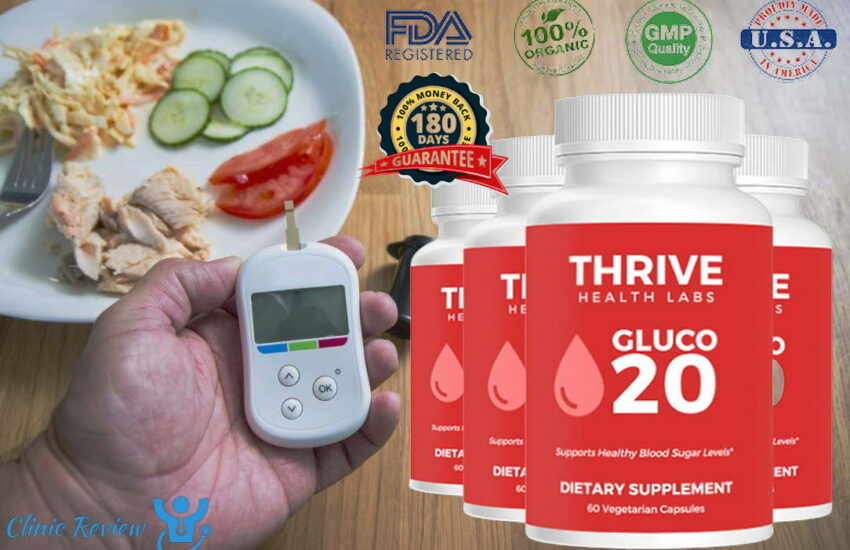 Thrive Health Labs Gluco 20 - (Modify 2021) Does Its Really Works?