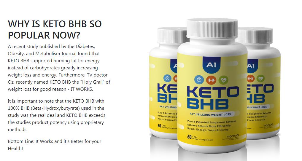 A1 Keto BHB Reviews - Reduce Fat & Get Lean & Slim Body