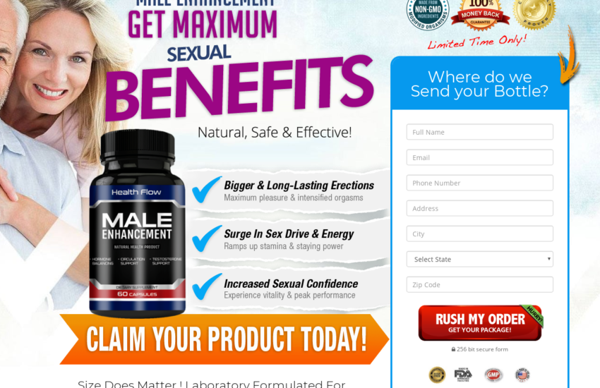 """Health Flow Male Enhancement """"Pros & Cons"""" How to Buy Health Flow?"""