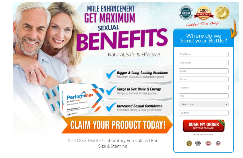 Performinax - How it Uses - What is Performinax Male Enhancement?