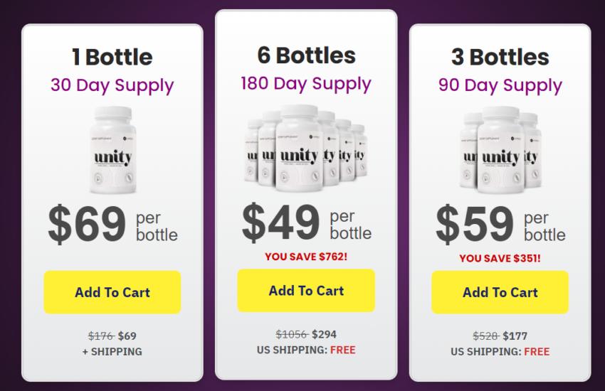 Unity Supplement - Price, Scam, Ingredients, Benefits, Reviews?