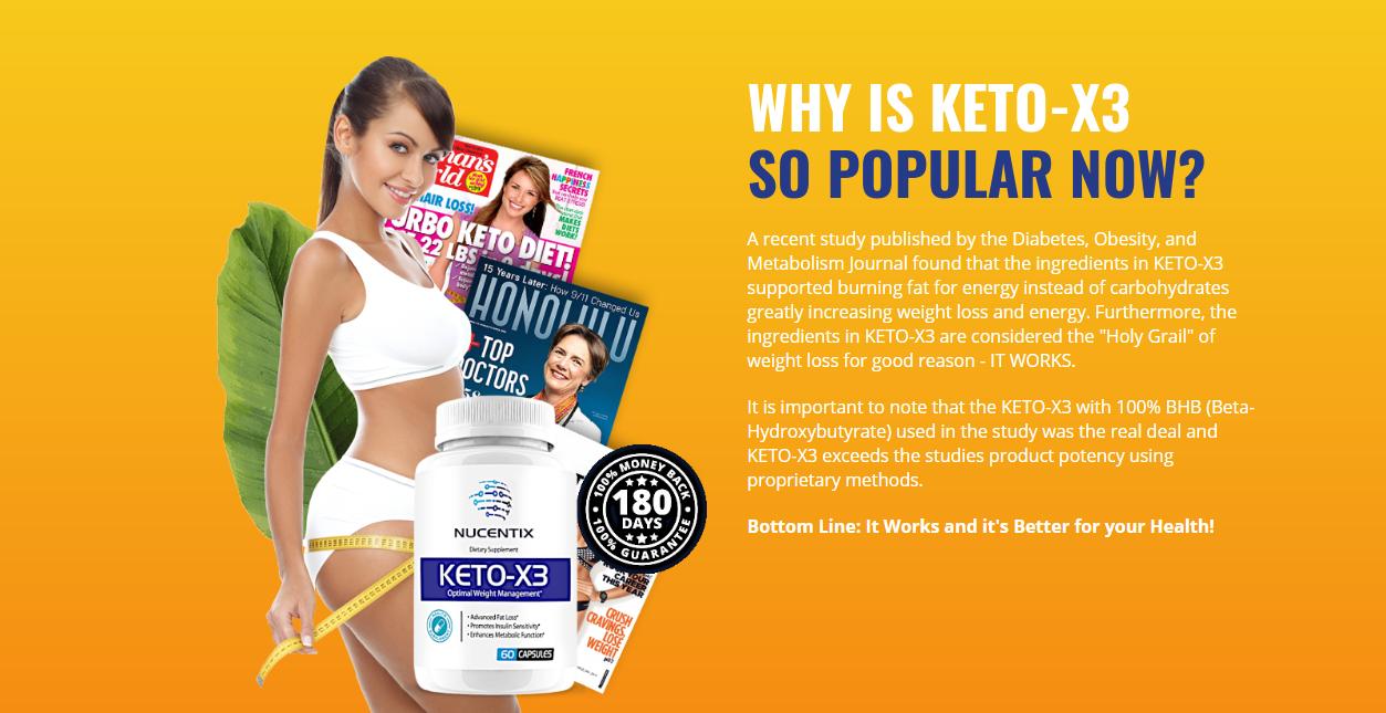 "Nucentix Keto-X3 Reviews ""Pros & Cons"" Its Scam or Hoax?"